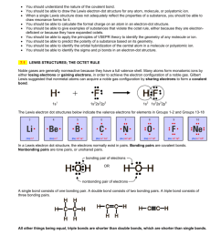 ap chemistry chapter review chapter 7 covalent bonding you should understand the nature of the covalent bond you should be able to draw the lewis  [ 791 x 1024 Pixel ]
