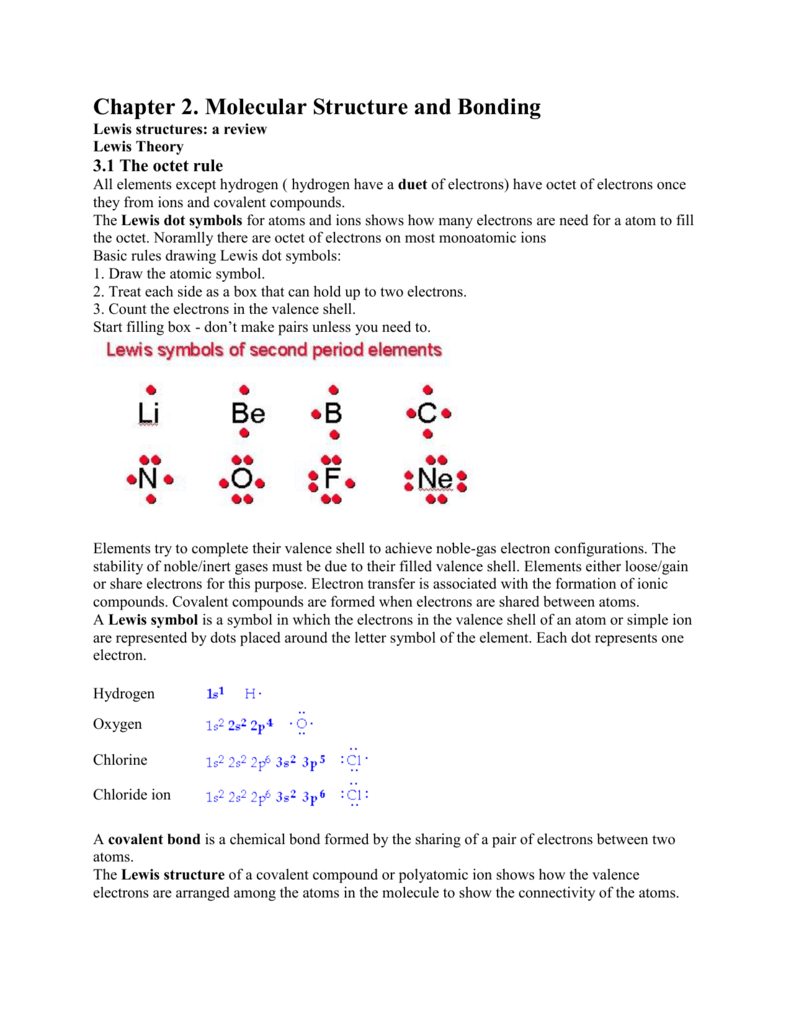 medium resolution of molecular structure and bonding