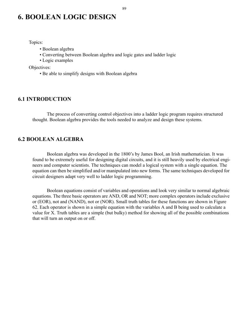 medium resolution of boolean logic design