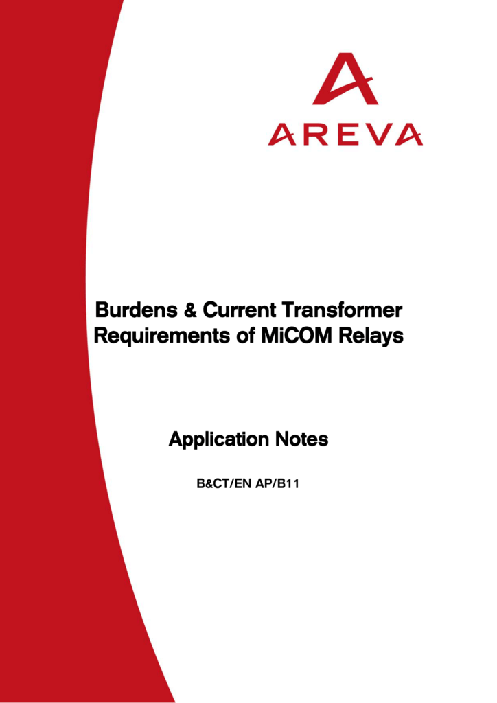 Current Required For Relay