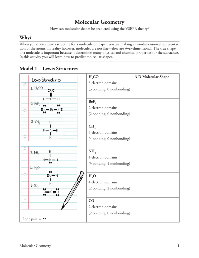 hight resolution of molecular geometry how can molecular shapes be predicted using the vsepr theory why when you draw a lewis structure for a molecule on paper