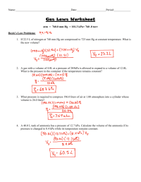 worksheet. Combined Gas Law Problems Worksheet. Grass ...