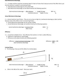 28 Worksheet Packet Simple Machines Answers - Worksheet Resource Plans [ 1024 x 791 Pixel ]