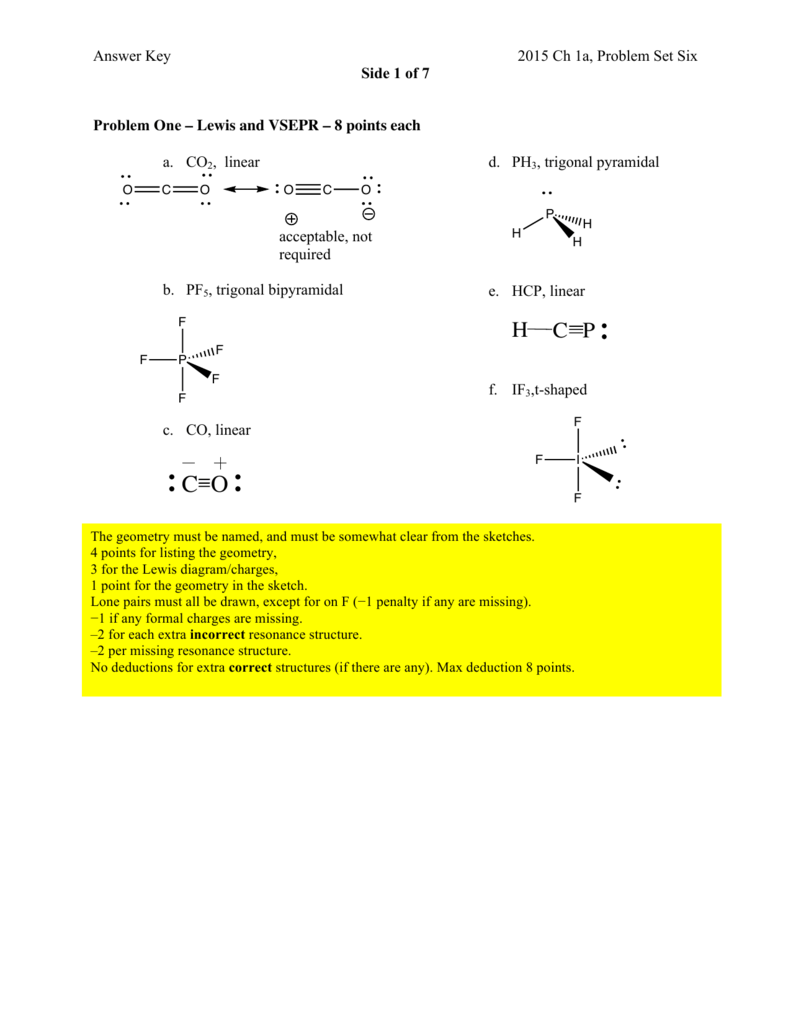 Lewis Dot Structure For Pcl3 : lewis, structure, Problem