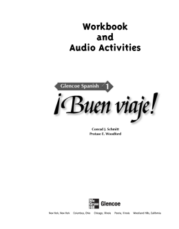 Workbook and Audio Activities