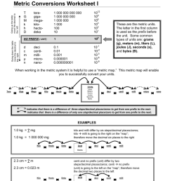 32 Metric System Conversions Worksheet Answers - Free Worksheet Spreadsheet [ 1024 x 791 Pixel ]