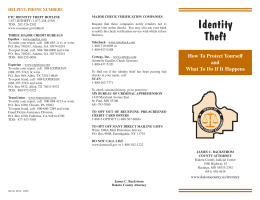 What Should I Do If I Become A Victim Of Identity Theft?