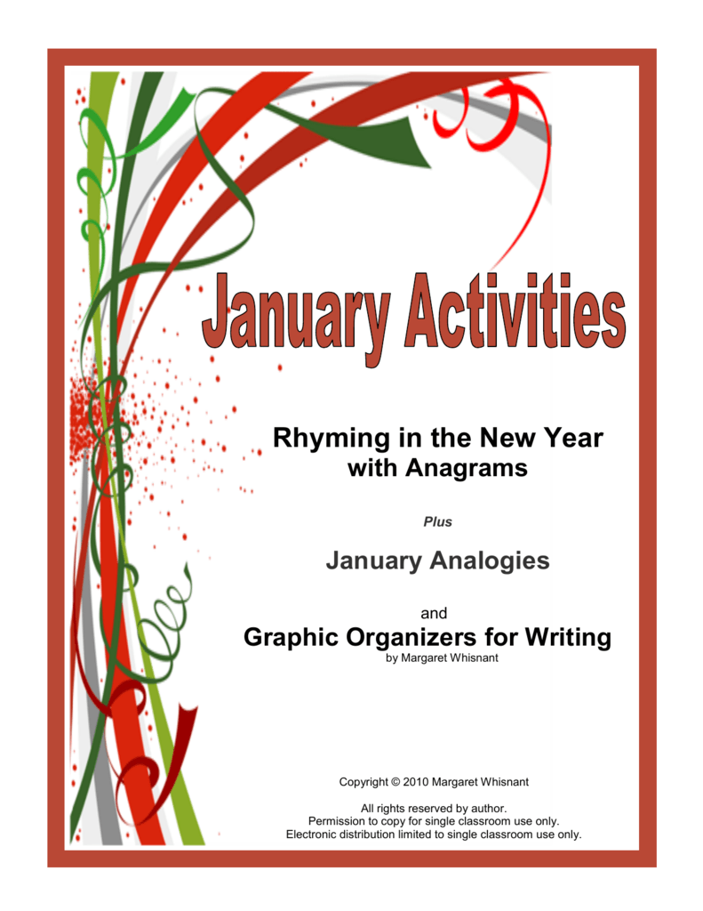hight resolution of Rhyming in the New Year - Taking Grades Publishing Company