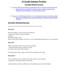 Scientific Method Practice Worksheet Answers - Nidecmege [ 1024 x 791 Pixel ]