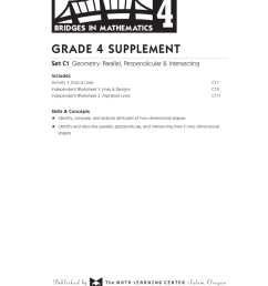 Grade 4 supplement - The Math Learning Center [ 1024 x 791 Pixel ]
