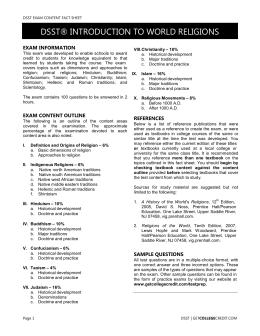 DSST® PRINCIPLES OF PUBLIC SPEAKING