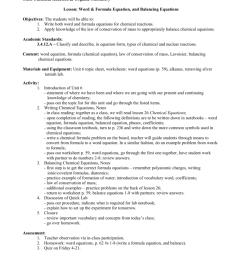 Subject: General Chemistry Kim Dallas Grade: 11 \u0026 12 [ 1024 x 791 Pixel ]