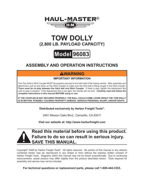 small resolution of tow dolly harbor freight tools dolly tow light wiring diagram