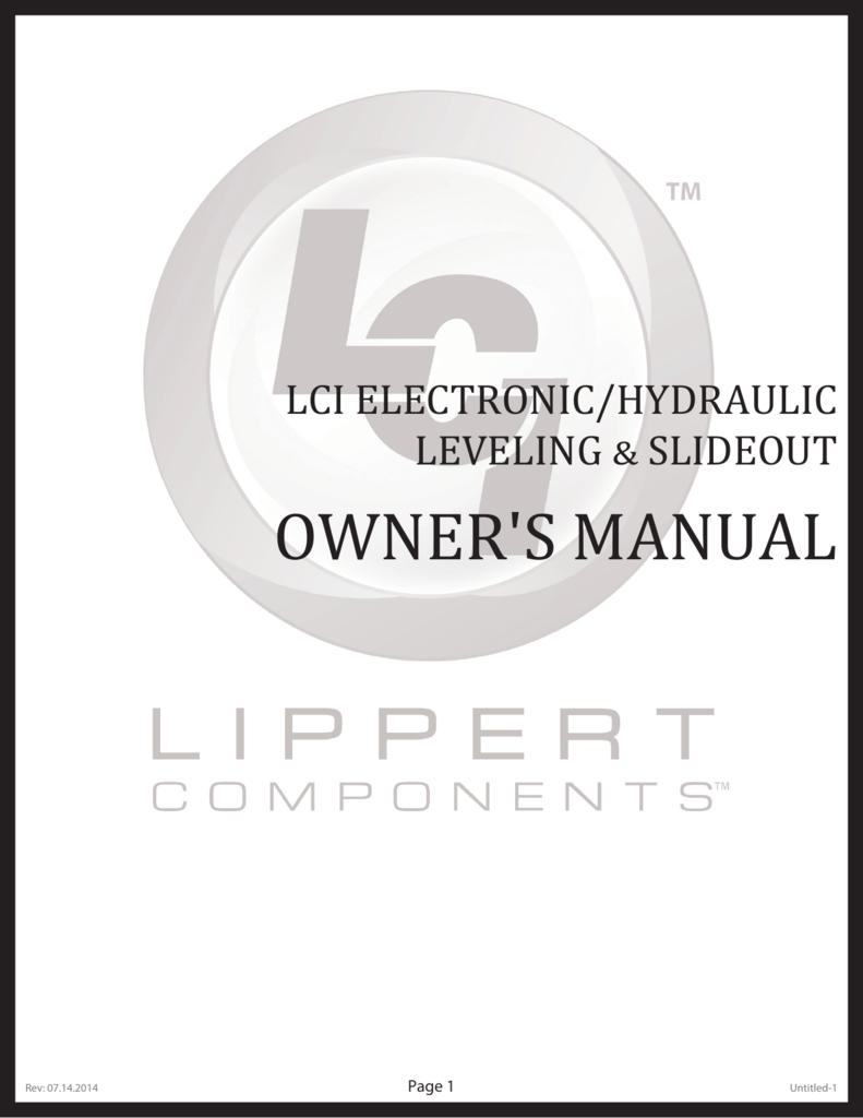 medium resolution of hydraulic leveling wiring diagram