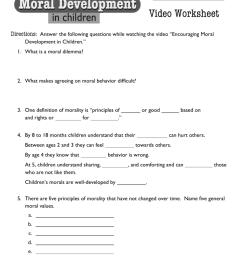 DownloadMoral Development Video Worksheet [ 1024 x 791 Pixel ]