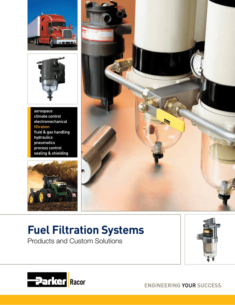 hight resolution of fuel filtration systems products and custom solutions about racor about racor parker hannifin corporation global leader in motion and control technologies