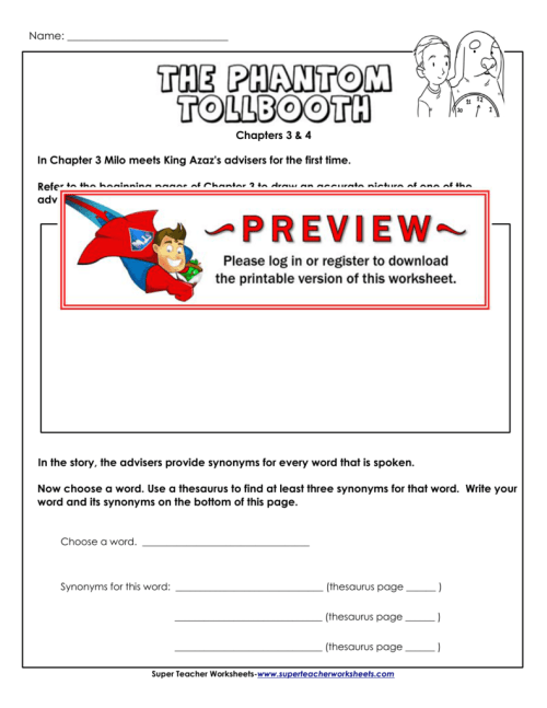 small resolution of Synonyms - Super Teacher Worksheets