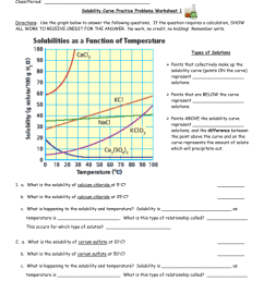 solubility chart worksheet answers - Yerse [ 1024 x 791 Pixel ]