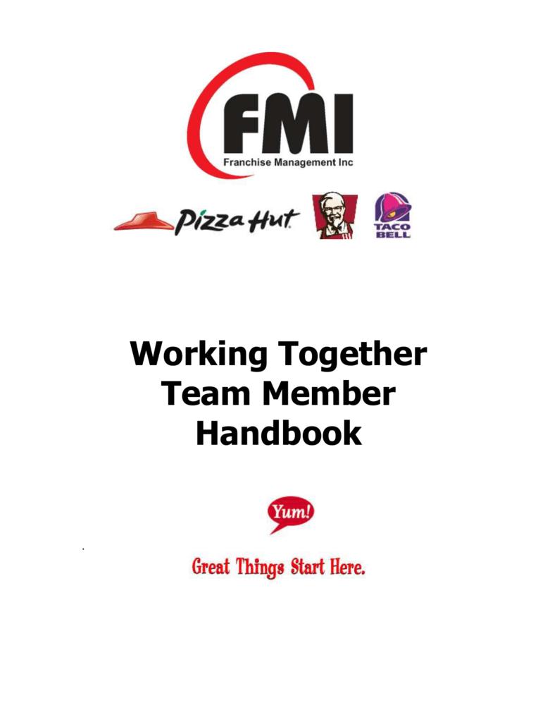 Team Member Handbook