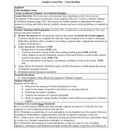 Sample Lesson Plan – Close Reading English 8 Close Reading [ 1024 x 791 Pixel ]