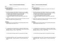 Universal Gravitation Worksheet - Adriaticatoursrl