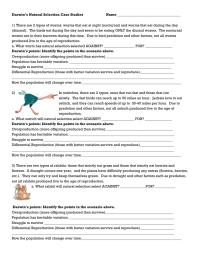 Natural Selection Worksheet. Worksheets. Kristawiltbank ...