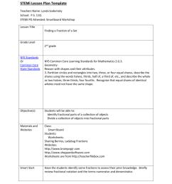 STEMi Lesson Plan Template Teachers Name: Lynda Sodomsky [ 1024 x 791 Pixel ]