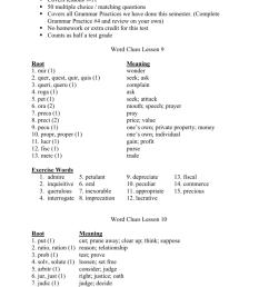 Exercise 2 Context Clues Lesson 3 - Exercise Poster [ 1024 x 791 Pixel ]