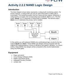 nand circuit diagram only [ 791 x 1024 Pixel ]