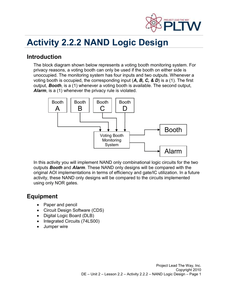 medium resolution of nand circuit diagram only
