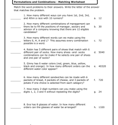 33 Permutations And Combinations Worksheet - Worksheet Resource Plans [ 1024 x 791 Pixel ]