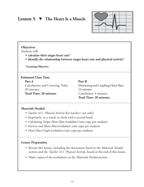 small resolution of Target Heart Rate Worksheet - Nidecmege