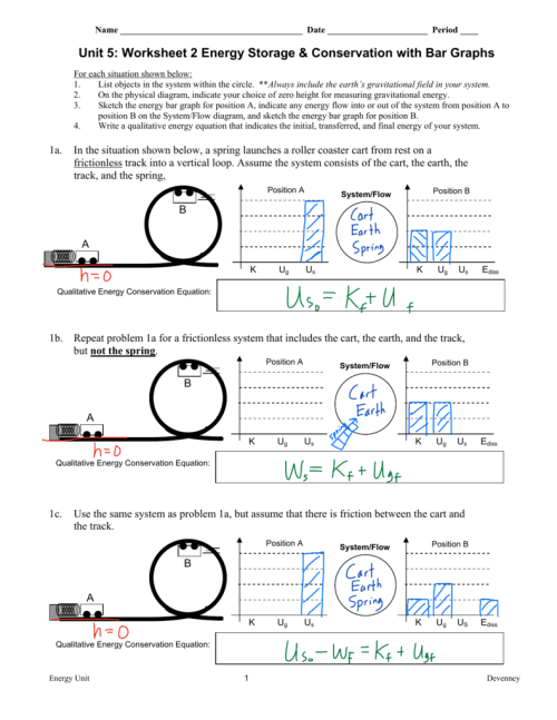 small resolution of energy bar charts worksheet answers - Zerse
