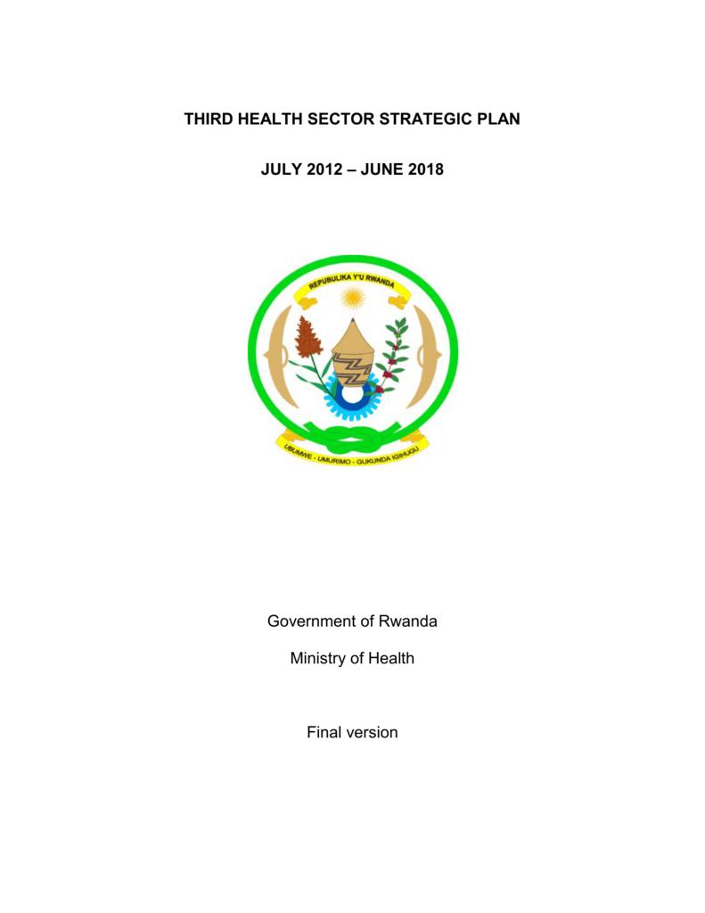 third health sector strategic plan