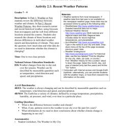 Activity 2.1: Recent Weather Patterns [ 1024 x 791 Pixel ]