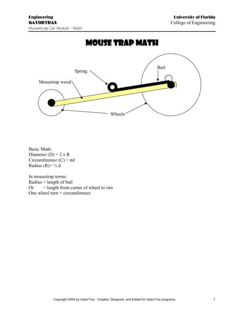 small resolution of mouse trap math tbp mindset program mousetrap car diagram figure 1 diagram of mousetrap