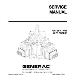 manual part no 0c8221 service manual gn724 v t twin ohvi engine p o b o x 2 9 7 w h i t e w a t e r  [ 791 x 1024 Pixel ]