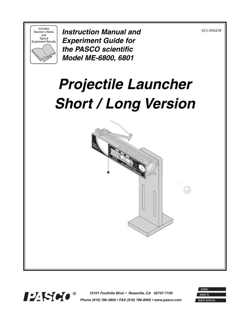 Projectile Launcher Short / Long Version