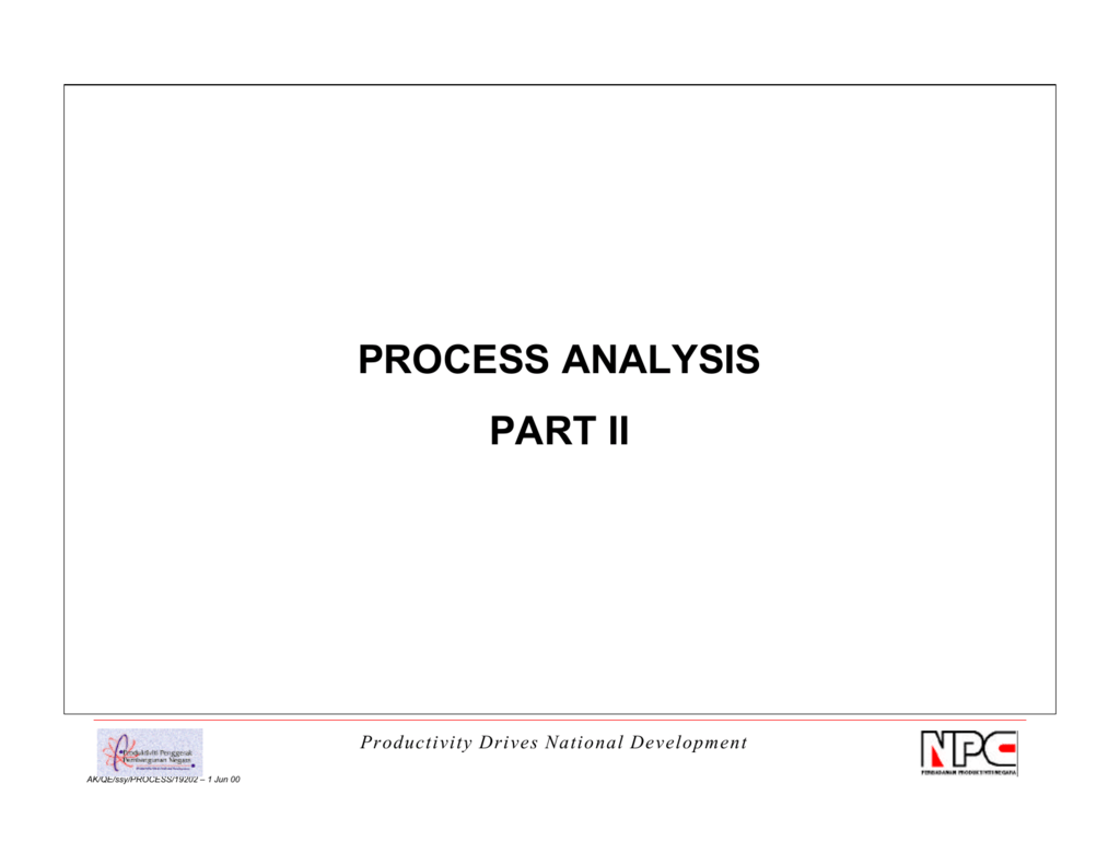 flow process chart