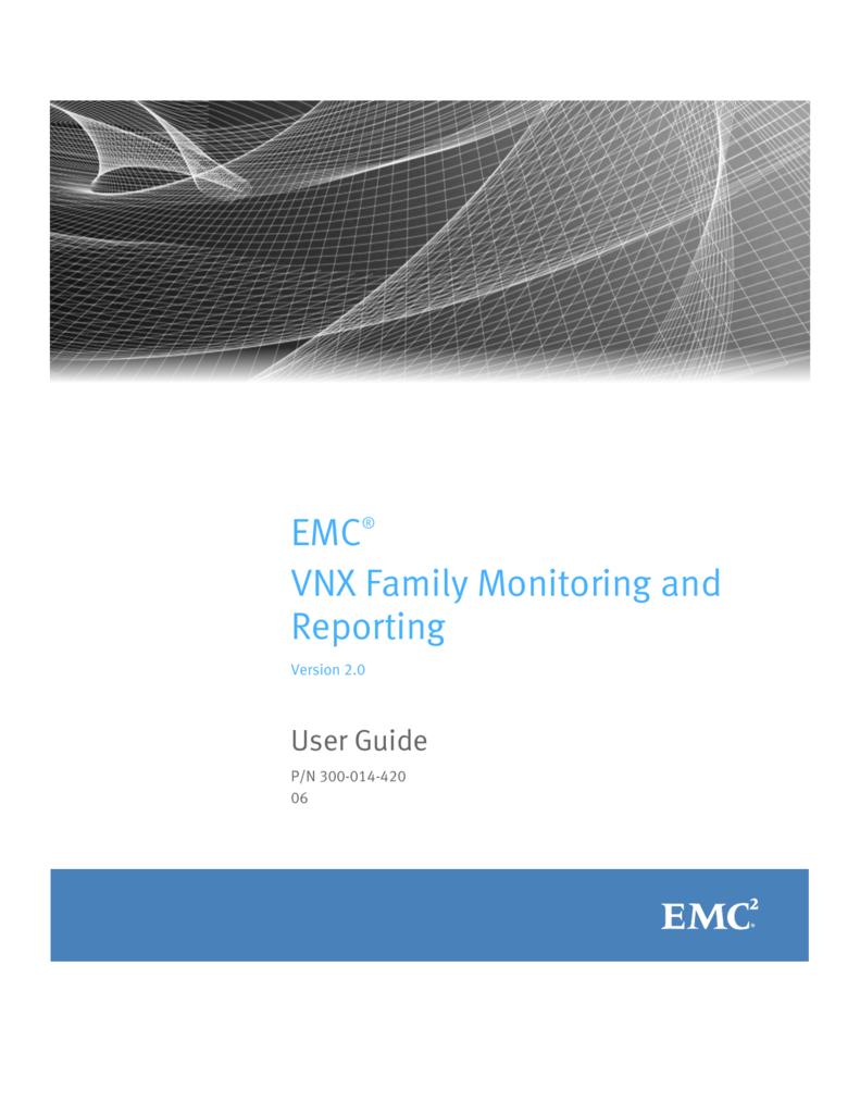medium resolution of emc vnx analyzer lab array emc vnx family monitoring and reporting user guide rh studylib