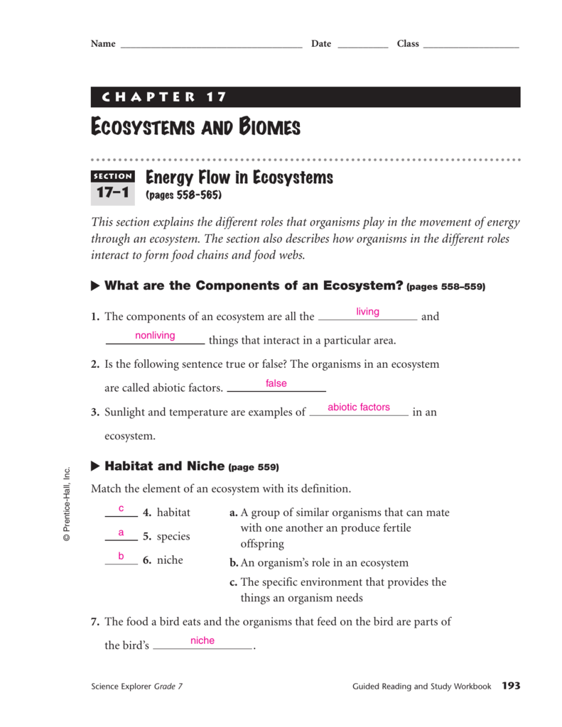 medium resolution of Section 17-1 (answers)