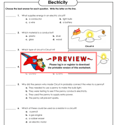 Electricity - Super Teacher Worksheets [ 1024 x 791 Pixel ]