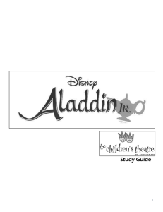 Monologues for Aladdin Kids Tips: Memorize it as best as
