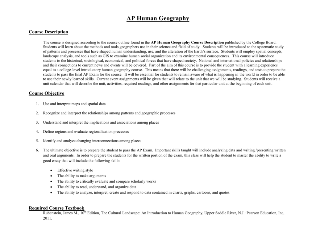 Chapter 7 Ethnicity Ap Human Geography Packet