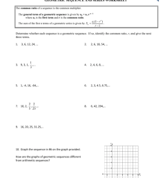 Geometric Sequence And Series Worksheet - Worksheet List [ 1024 x 791 Pixel ]
