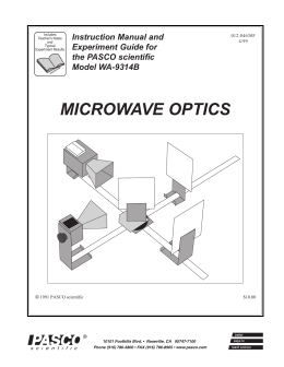 Polarization (Microwave Optics)