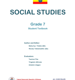 Social Studies in English Grade 7 Student Book [ 1024 x 768 Pixel ]