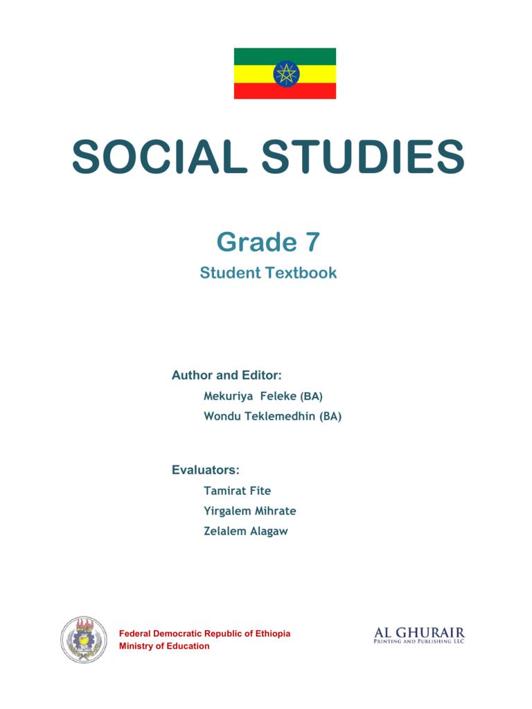 medium resolution of Social Studies in English Grade 7 Student Book