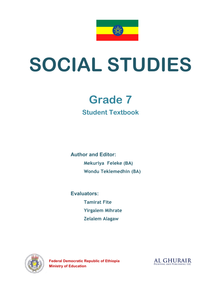 hight resolution of Social Studies in English Grade 7 Student Book