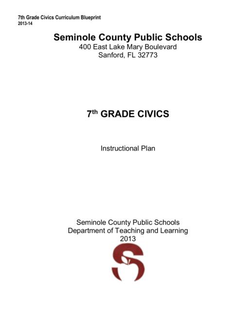 small resolution of 7th Grade Civics - Seminole County Schools